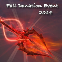 Fall Donation Event 2014